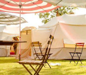 Zelt für die Familie