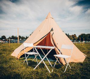 Zelt mit Platz für vier