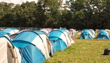 Zelt für vier Personen