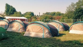 Zelt für zwei Personen
