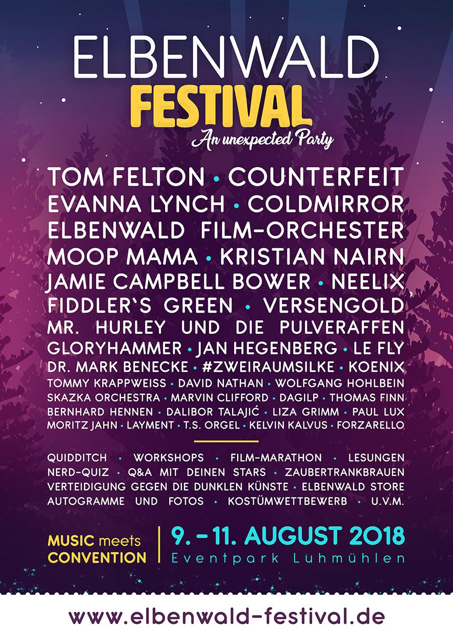 Elbenwald Festival Line-up 2018