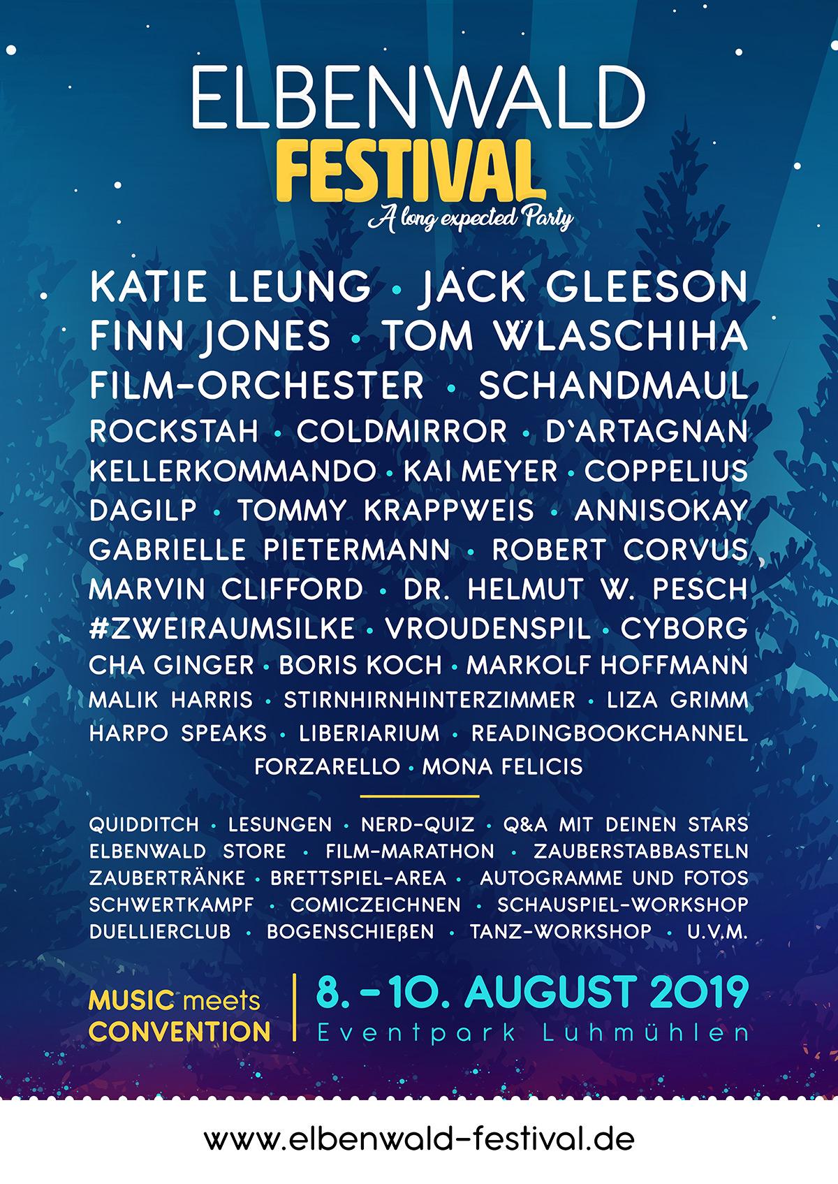 Elbenwald Festival Line-up 2019