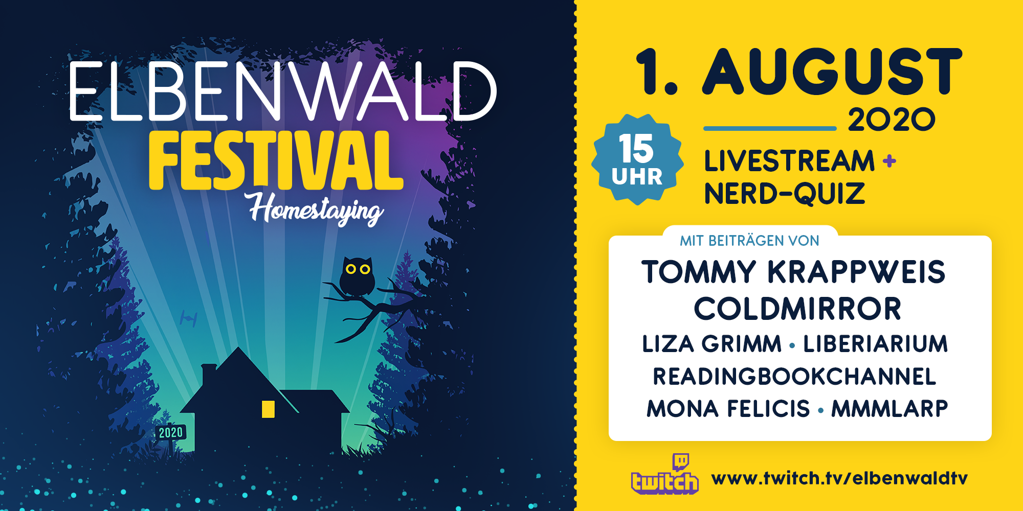Elbenwald Festival - Homestaying