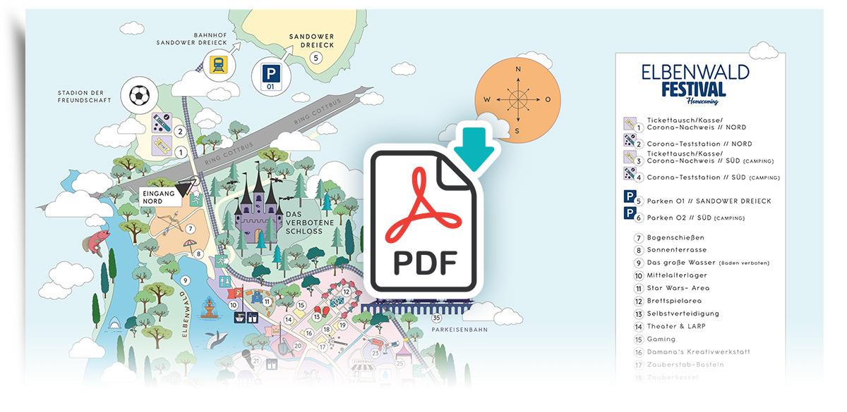 Elbenwald Festival - Geländeplan: PDF Download
