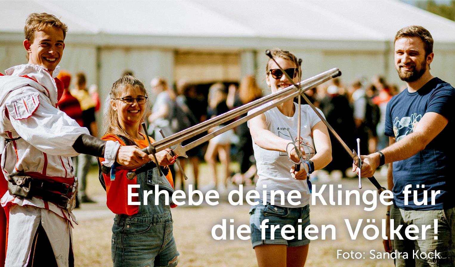 Workshop Schwertkampf, Foto: Sandra Kock