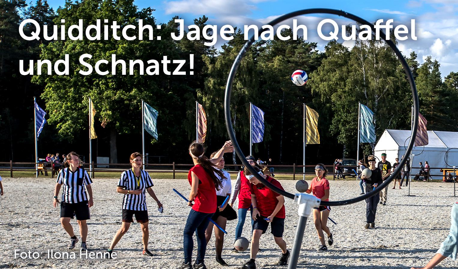 Quidditch, Foto: Ilona Henne