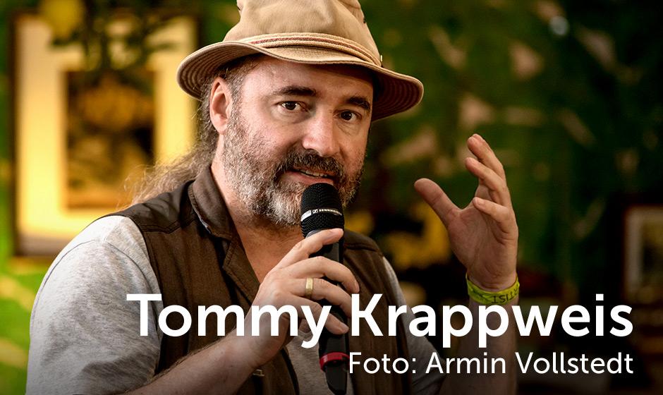 Tommy Krappweis, Foto: Armin Vollstedt