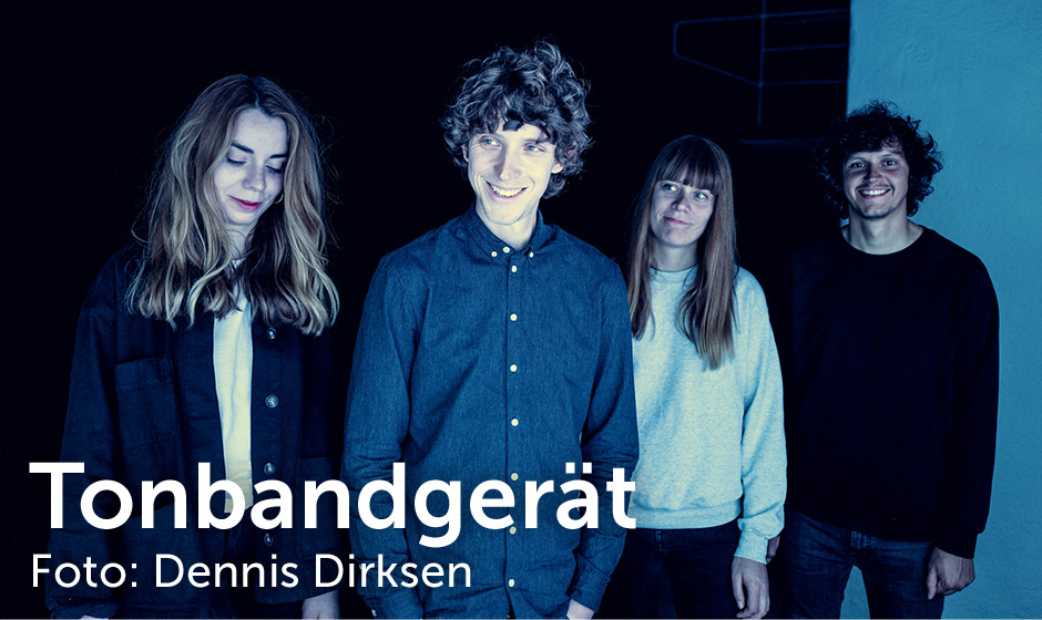 Tonbandgerät, Foto: Dennis Dirksen