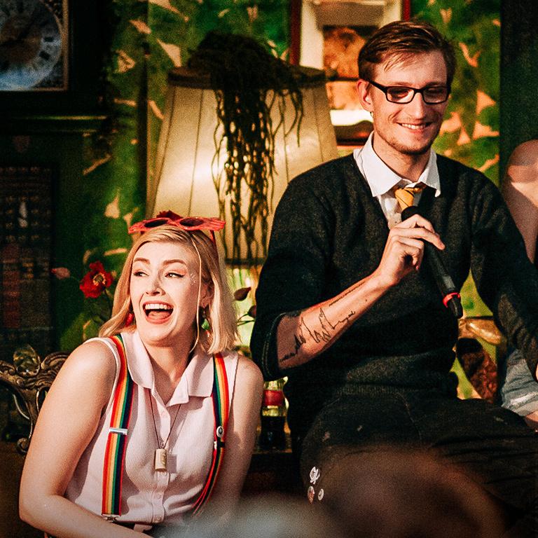 Nerd Talk, Foto: Sandra Kock